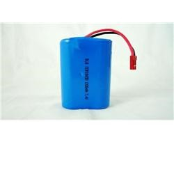 High Power Cylindrical Li-ion Battery ICR18650 1300mAh 7.4V 40g
