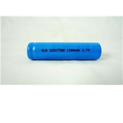 High Capacity Cylindrical Li Ion Battery ICR17360 750mAh 3.7V 19g
