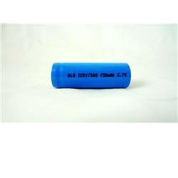 High Capacity Cylindrical Li Ion Battery ICR17500 1200mAh 3.7V 28g