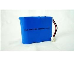 High Capacity Cylindrical Li Ion Battery ICR17500 1200mAh 11.1V